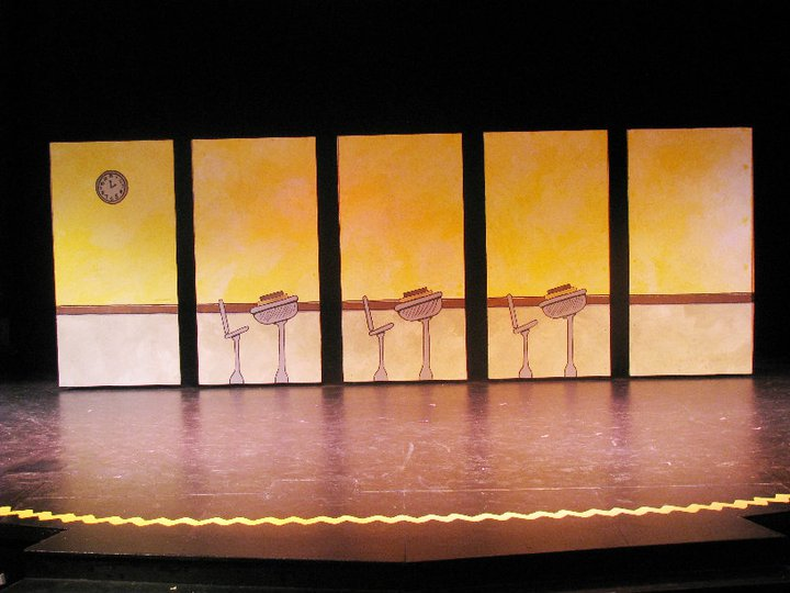 You Re A Good Man Charlie Brown Set Scenic Design